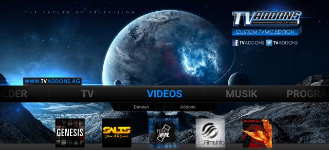 KODI – Media Center – Filme und TV schauen